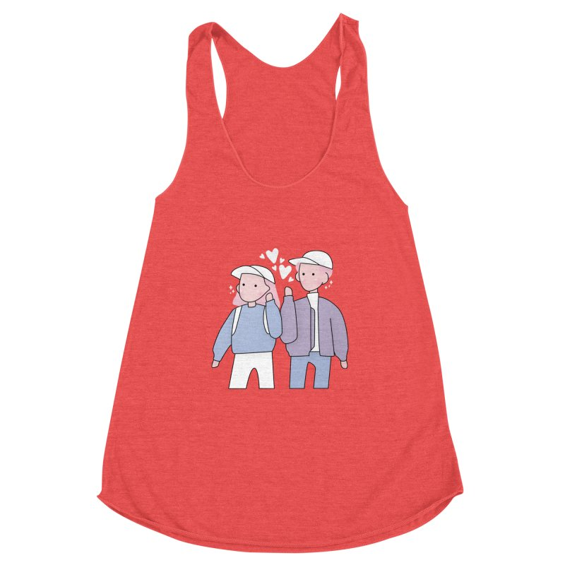 Happy Valentine's Day Women's Tank by theladyernestember's Artist Shop