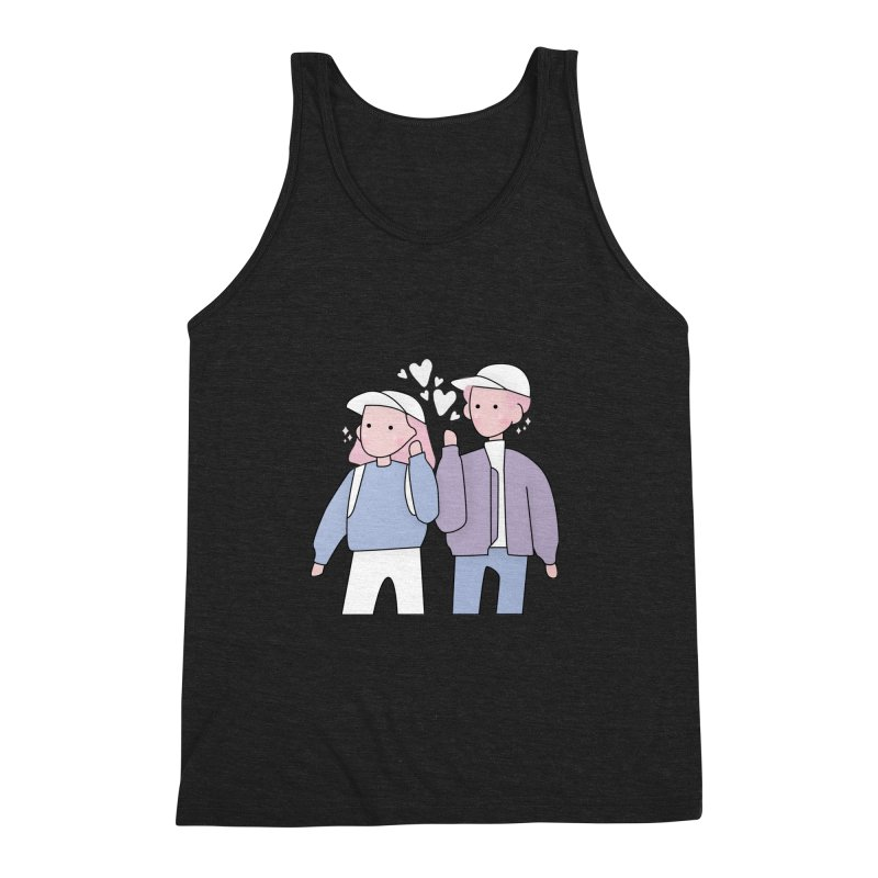 Happy Valentine's Day Men's Tank by theladyernestember's Artist Shop