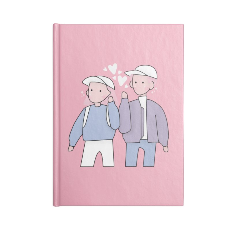 Happy Valentine's Day Accessories Notebook by theladyernestember's Artist Shop