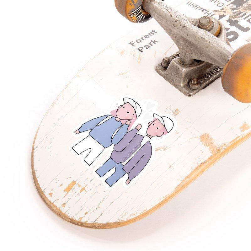 Happy Valentine's Day Accessories Sticker by theladyernestember's Artist Shop