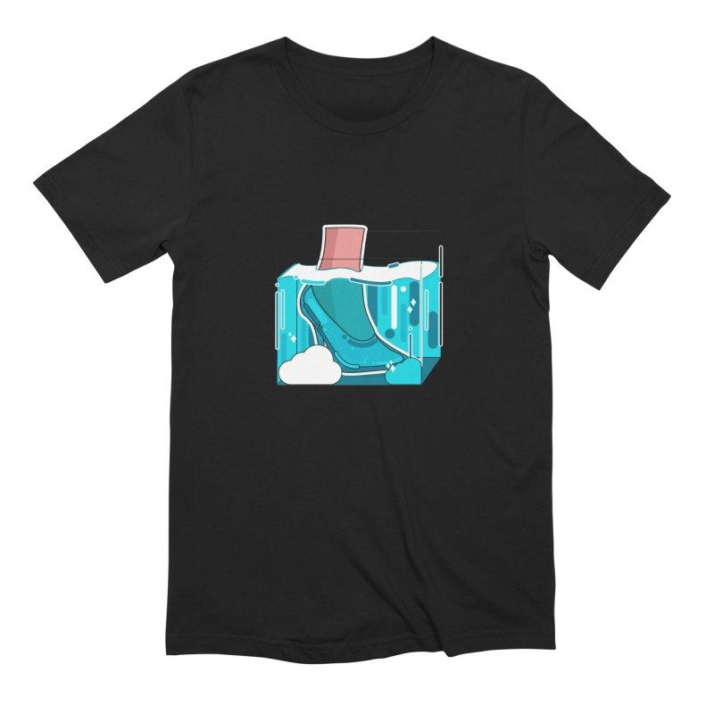 Feet under water Men's T-Shirt by theladyernestember's Artist Shop