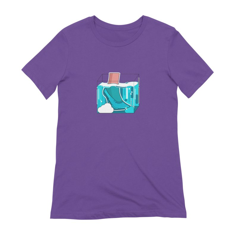 Feet under water Women's Extra Soft T-Shirt by the lady ernest ember's Artist Shop