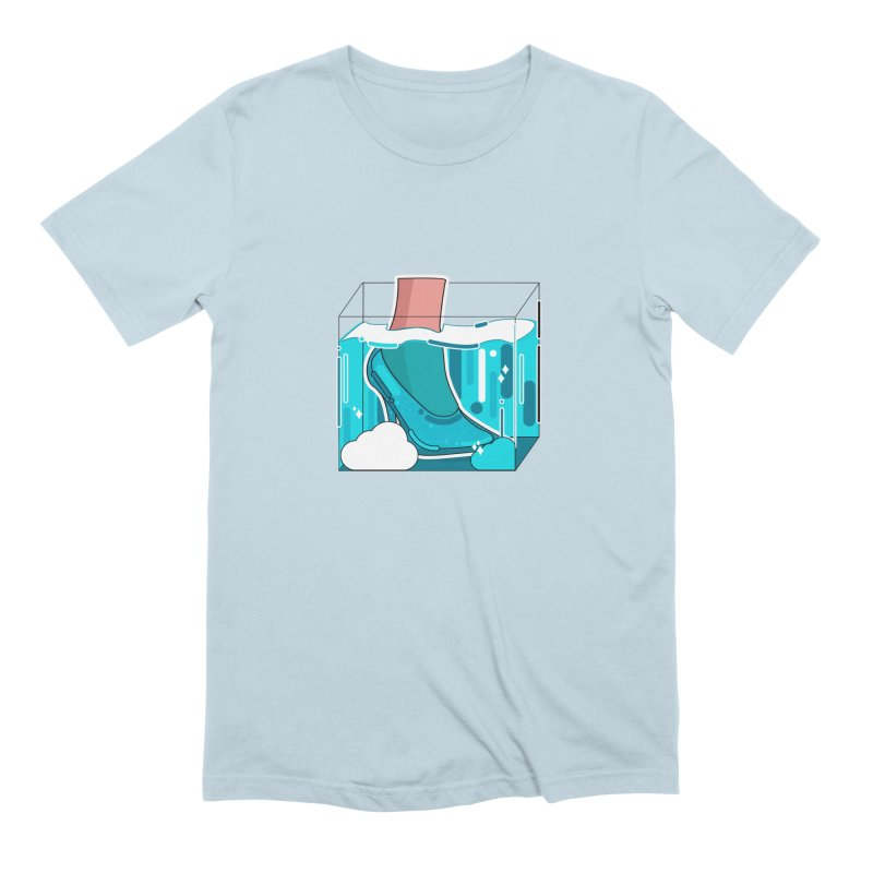 Feet under water Men's T-Shirt by theladyernestember's Artist Shop