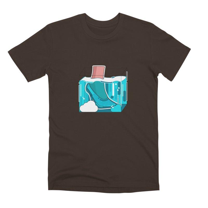 Feet under water Men's Premium T-Shirt by the lady ernest ember's Artist Shop