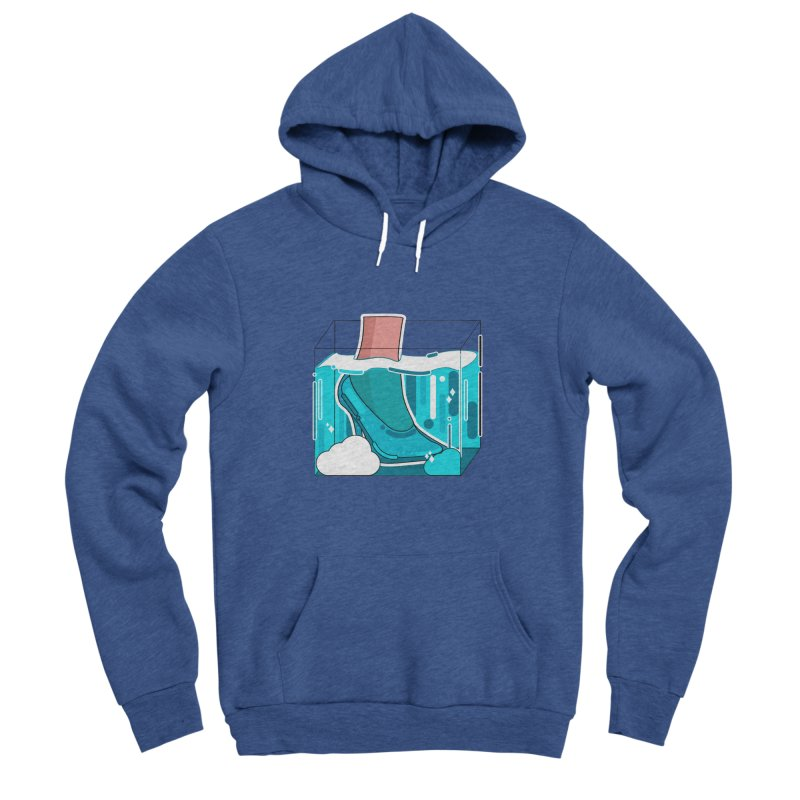 Feet under water Women's Sponge Fleece Pullover Hoody by the lady ernest ember's Artist Shop