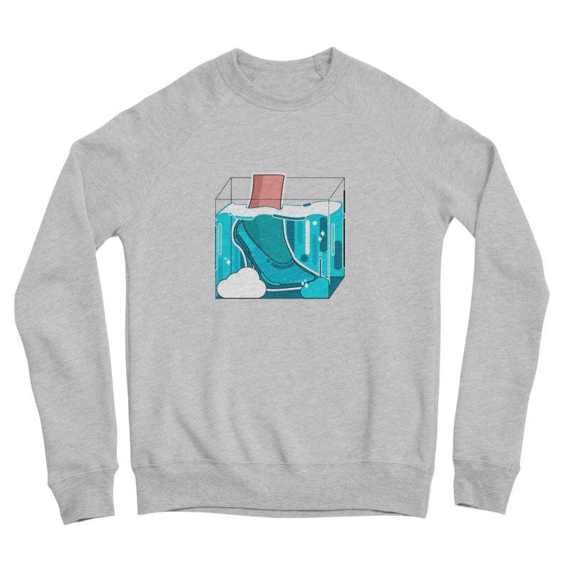 Feet under water Men's Sponge Fleece Sweatshirt by the lady ernest ember's Artist Shop