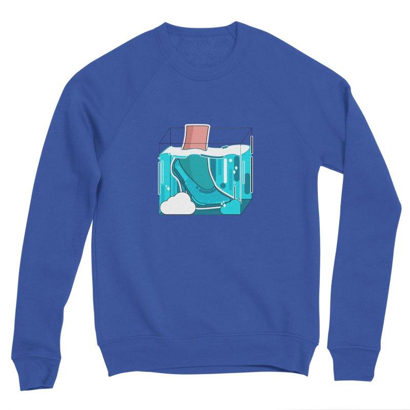 Feet under water Women's Sponge Fleece Sweatshirt by the lady ernest ember's Artist Shop