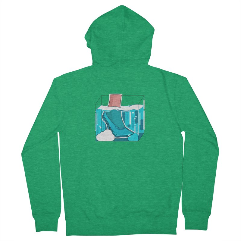 Feet under water Women's Zip-Up Hoody by theladyernestember's Artist Shop