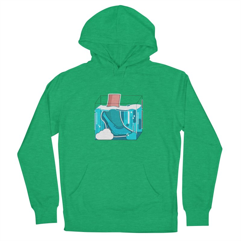Feet under water Women's Pullover Hoody by theladyernestember's Artist Shop