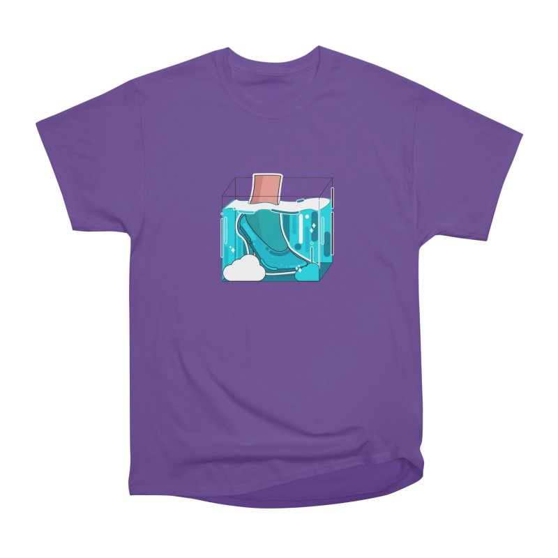 Feet under water Women's Heavyweight Unisex T-Shirt by the lady ernest ember's Artist Shop