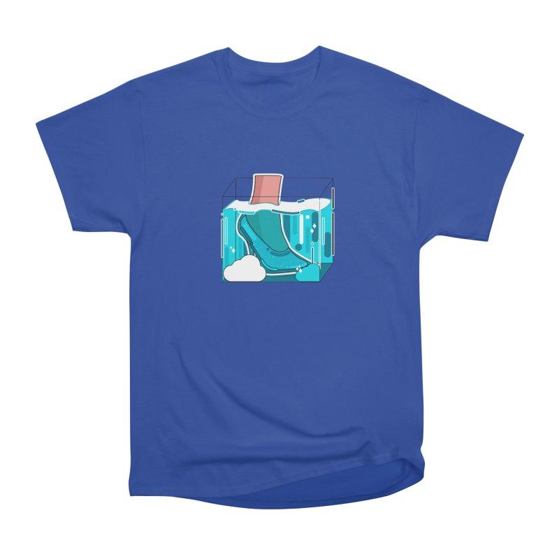 Feet under water Men's Heavyweight T-Shirt by the lady ernest ember's Artist Shop
