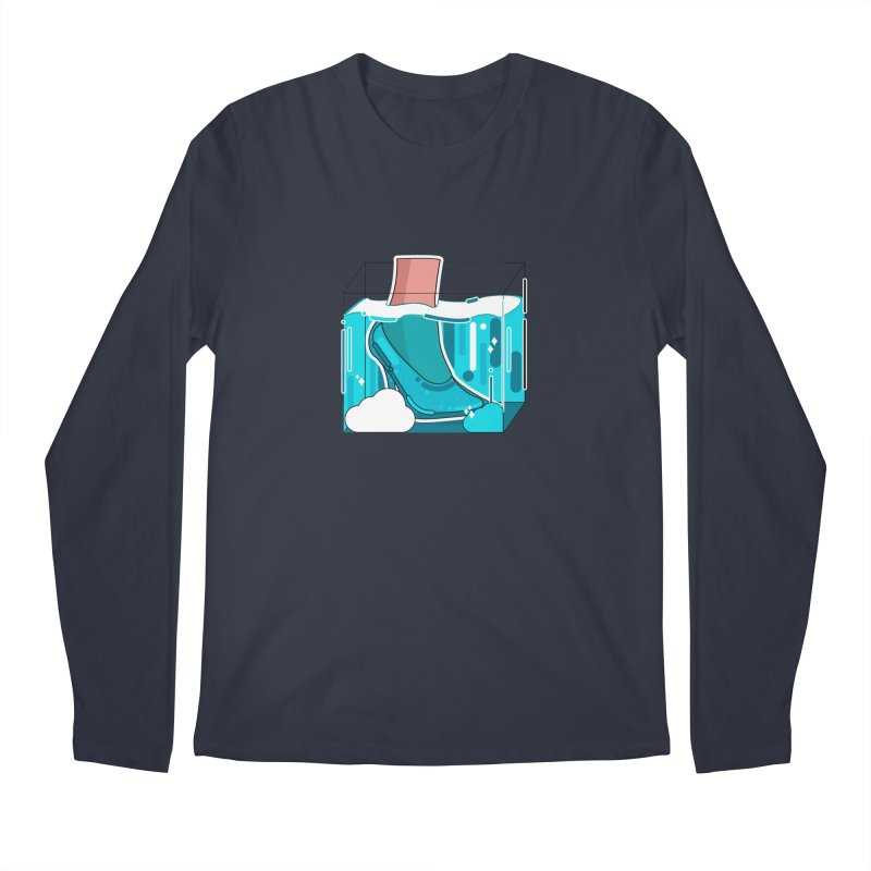Feet under water Men's Longsleeve T-Shirt by theladyernestember's Artist Shop