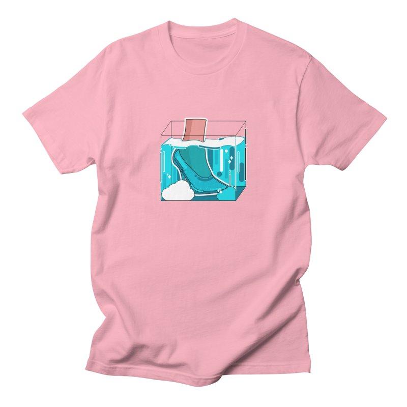 Feet under water Men's Regular T-Shirt by theladyernestember's Artist Shop