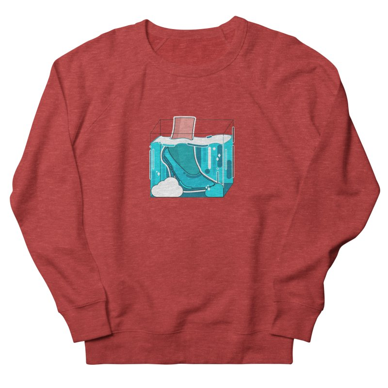 Feet under water Men's French Terry Sweatshirt by theladyernestember's Artist Shop