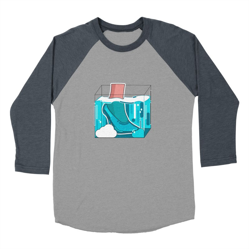 Feet under water Women's Baseball Triblend Longsleeve T-Shirt by theladyernestember's Artist Shop