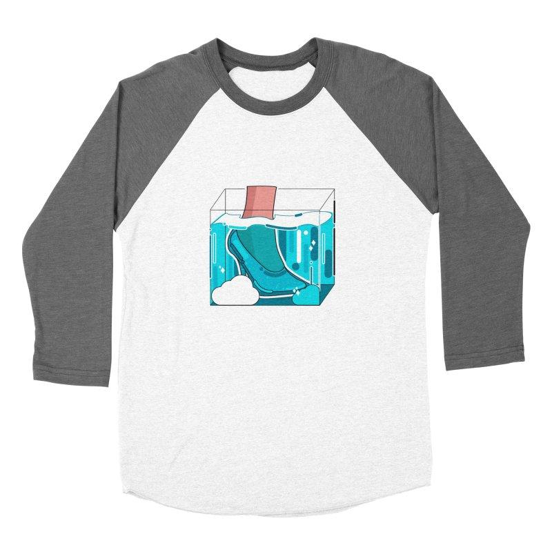 Feet under water Men's Baseball Triblend Longsleeve T-Shirt by theladyernestember's Artist Shop