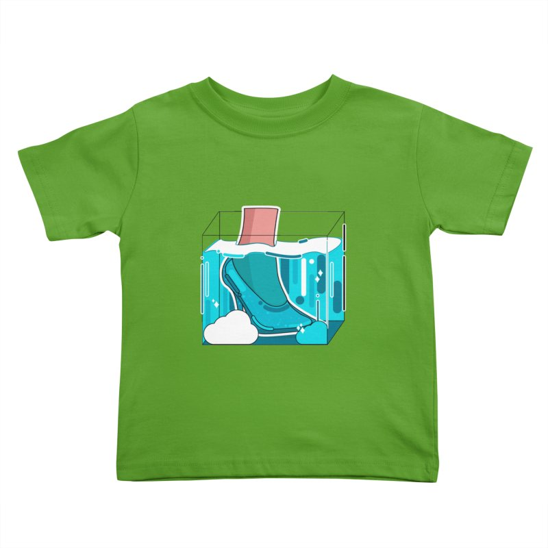 Feet under water Kids Toddler T-Shirt by theladyernestember's Artist Shop