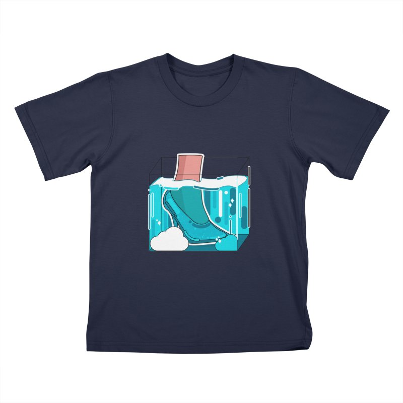 Feet under water Kids T-Shirt by theladyernestember's Artist Shop
