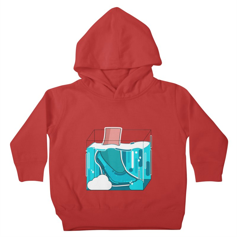 Feet under water Kids Toddler Pullover Hoody by the lady ernest ember's Artist Shop