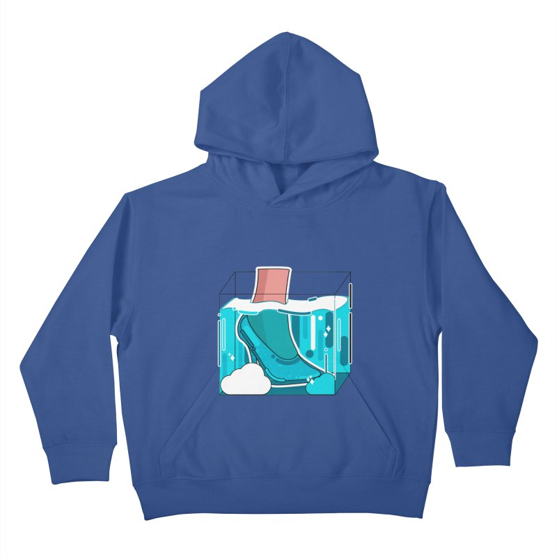 Feet under water Kids Pullover Hoody by theladyernestember's Artist Shop