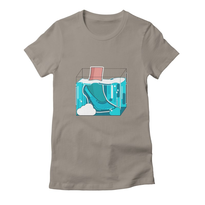 Feet under water Women's T-Shirt by theladyernestember's Artist Shop