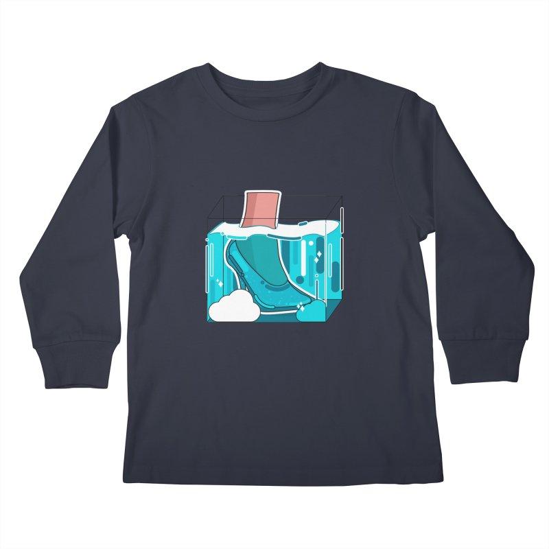 Feet under water Kids Longsleeve T-Shirt by theladyernestember's Artist Shop