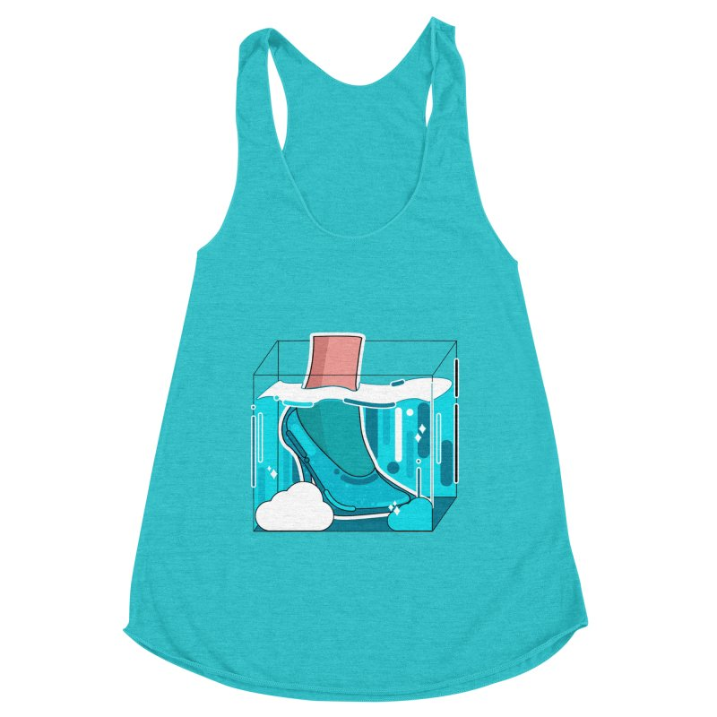 Feet under water Women's Tank by theladyernestember's Artist Shop