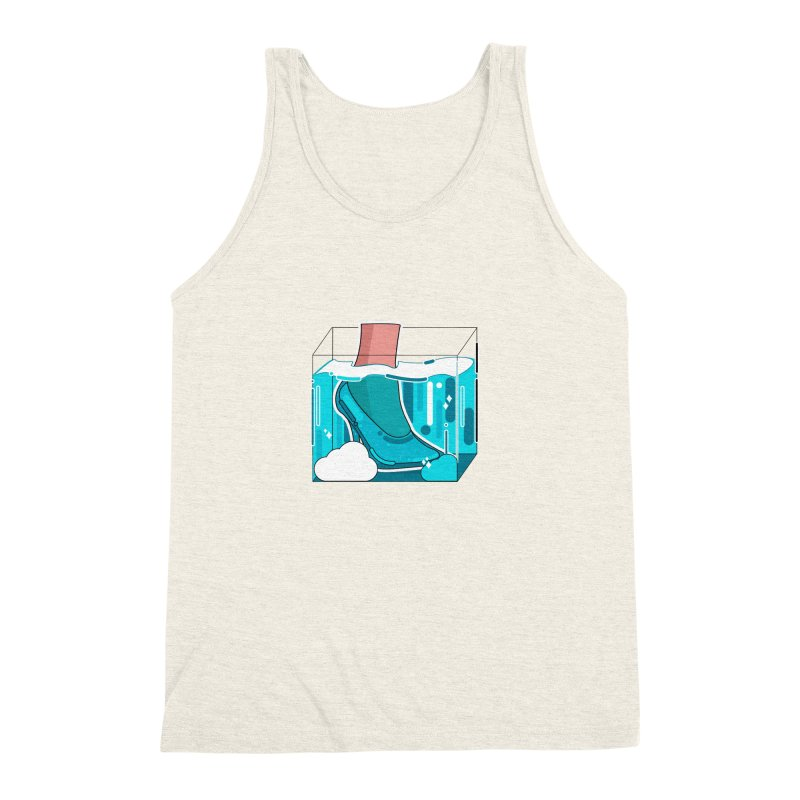 Feet under water Men's Triblend Tank by the lady ernest ember's Artist Shop
