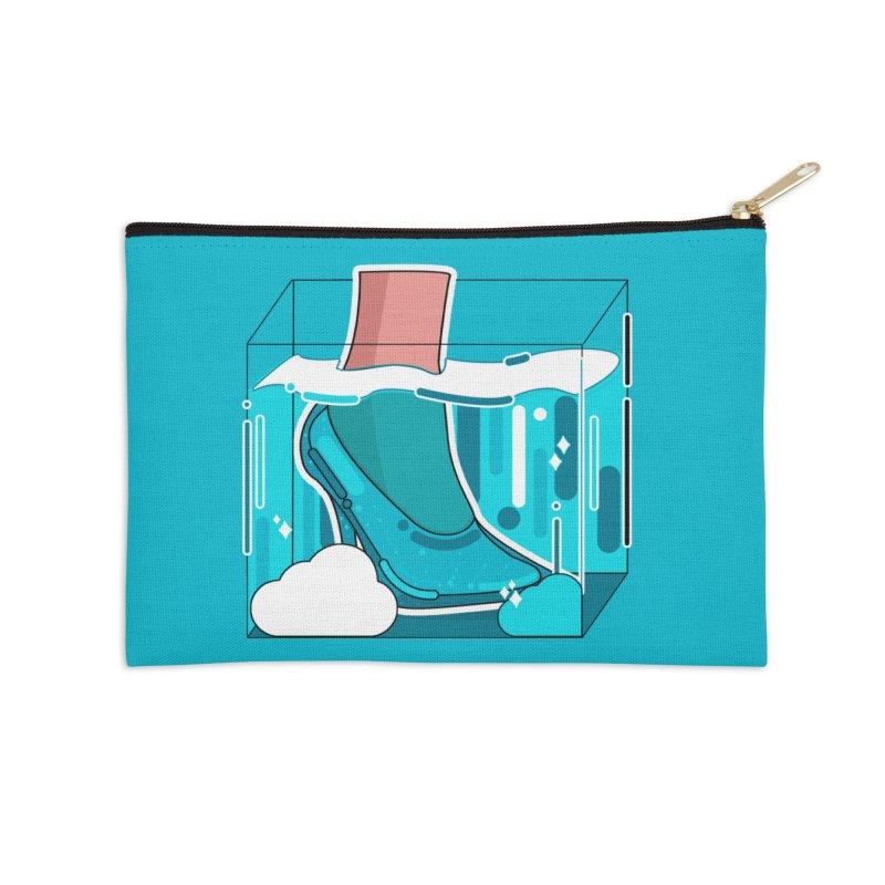 Feet under water Accessories Zip Pouch by theladyernestember's Artist Shop