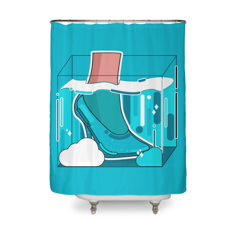 Feet under water Home Shower Curtain by theladyernestember's Artist Shop