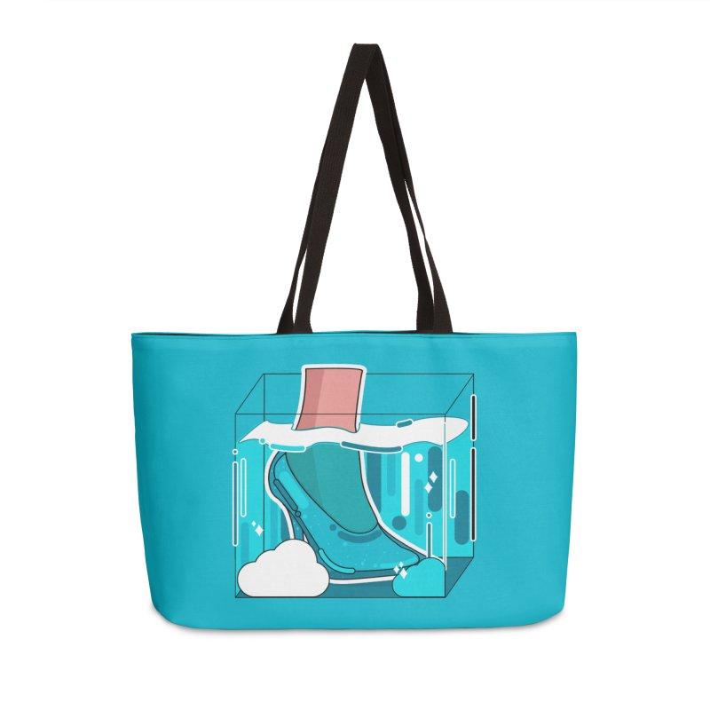 Feet under water Accessories Bag by theladyernestember's Artist Shop