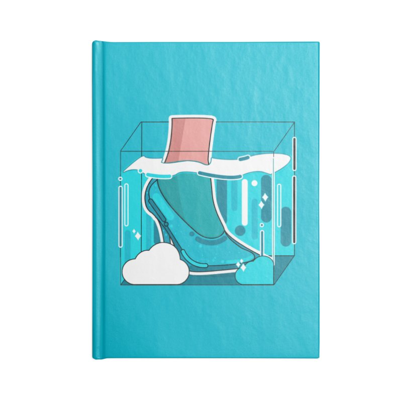 Feet under water Accessories Notebook by theladyernestember's Artist Shop