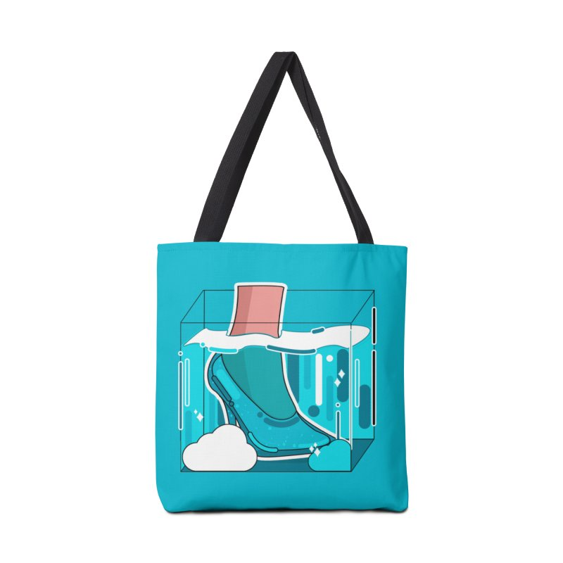 Feet under water Accessories Tote Bag Bag by the lady ernest ember's Artist Shop