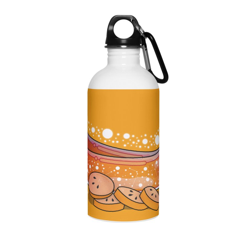 Banana Accessories Water Bottle by the lady ernest ember's Artist Shop