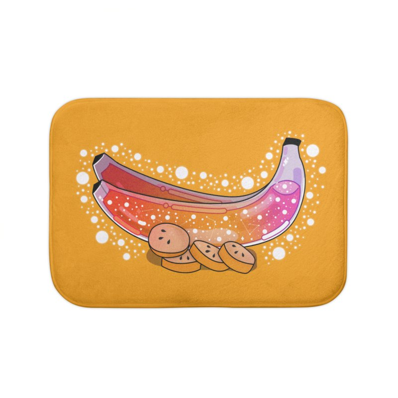 Banana Home Bath Mat by theladyernestember's Artist Shop