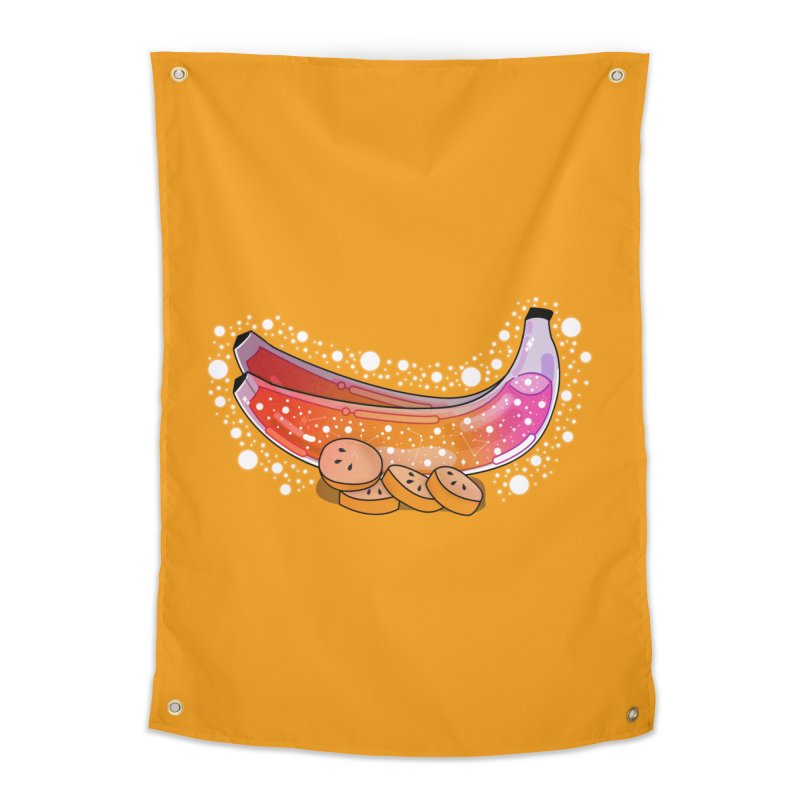 Banana Home Tapestry by theladyernestember's Artist Shop