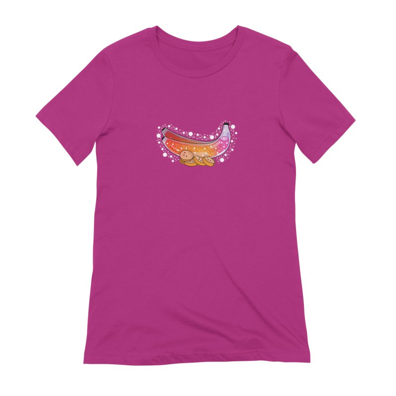 Banana Women's Extra Soft T-Shirt by the lady ernest ember's Artist Shop