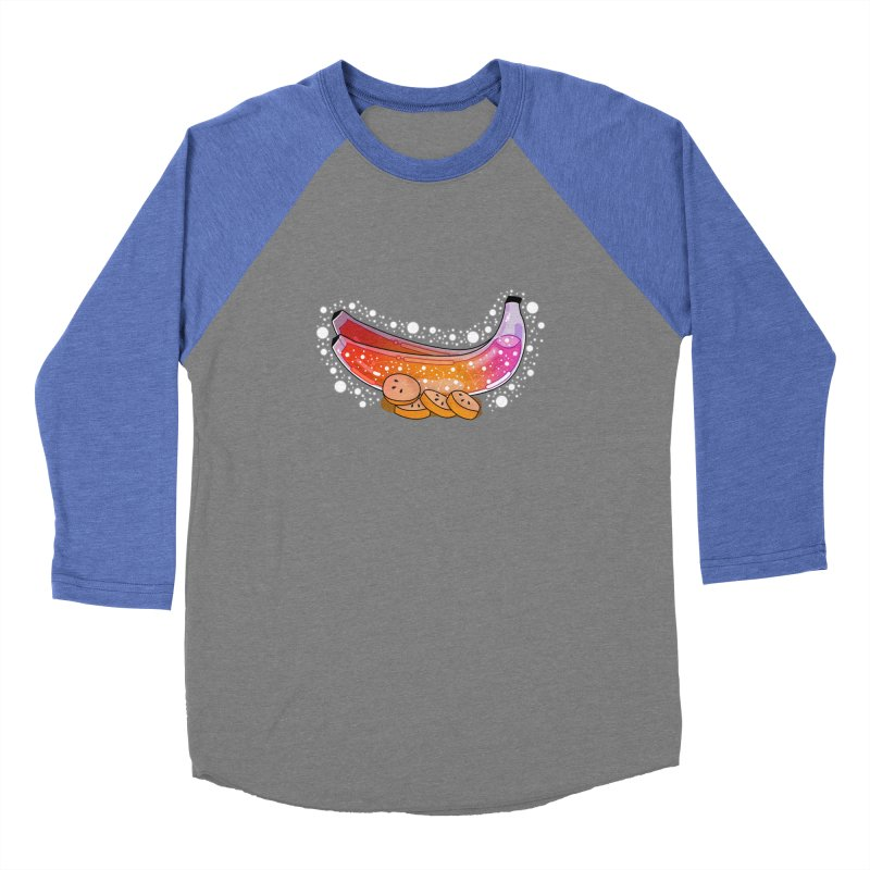 Banana Men's Baseball Triblend Longsleeve T-Shirt by theladyernestember's Artist Shop