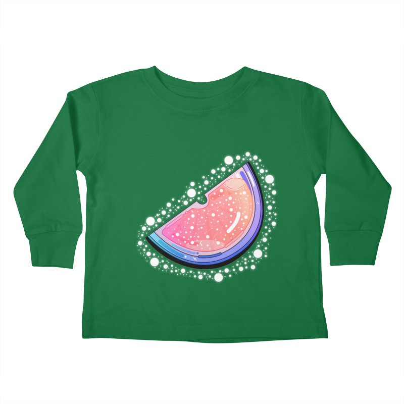 Orange Citrus Kids Toddler Longsleeve T-Shirt by the lady ernest ember's Artist Shop