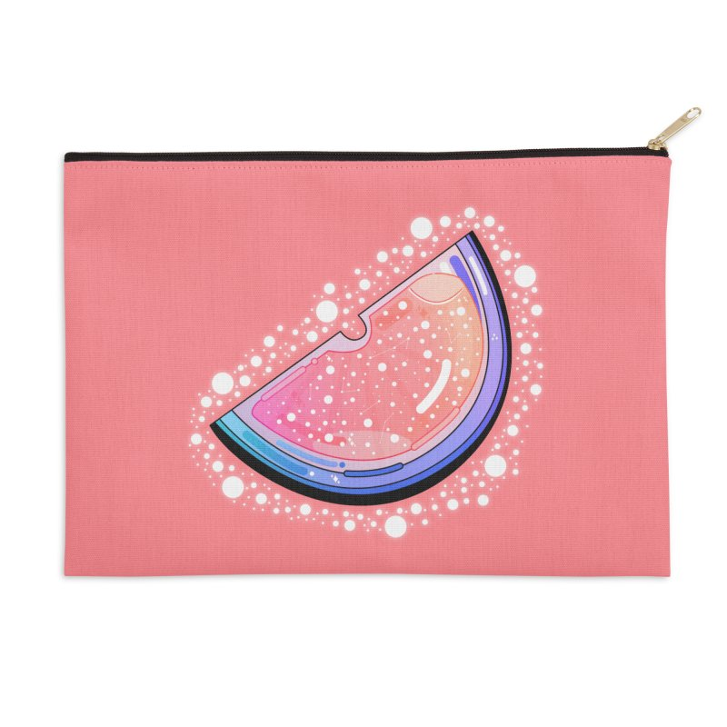 Orange Citrus Accessories Zip Pouch by theladyernestember's Artist Shop