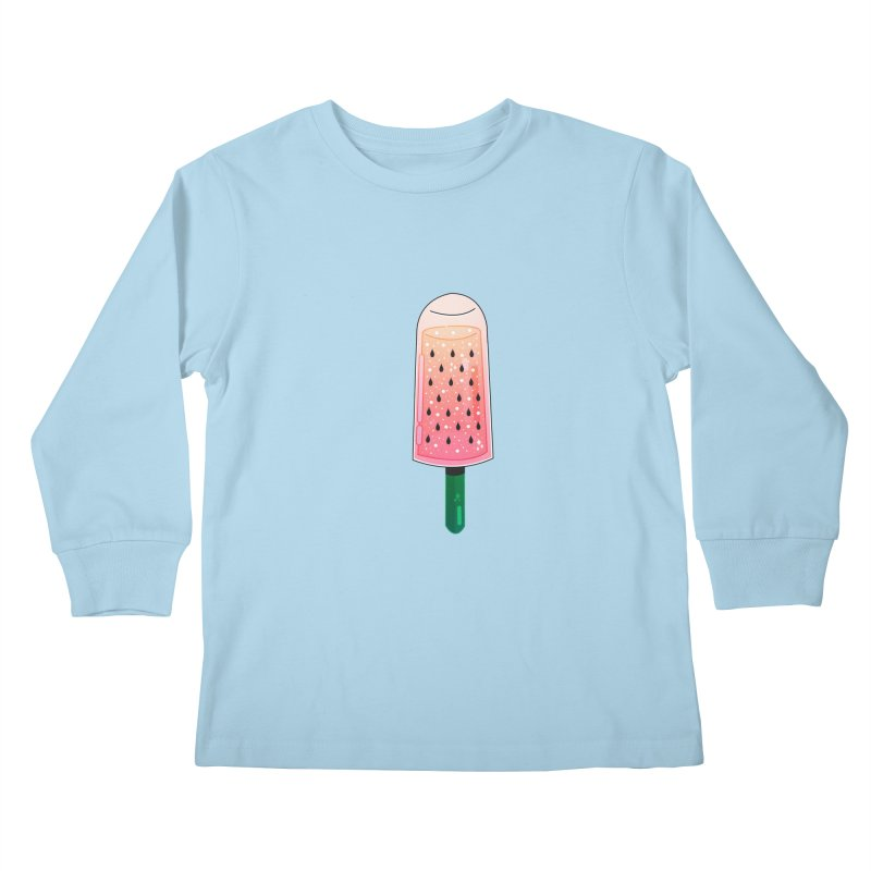 Ice cream Kids Longsleeve T-Shirt by theladyernestember's Artist Shop