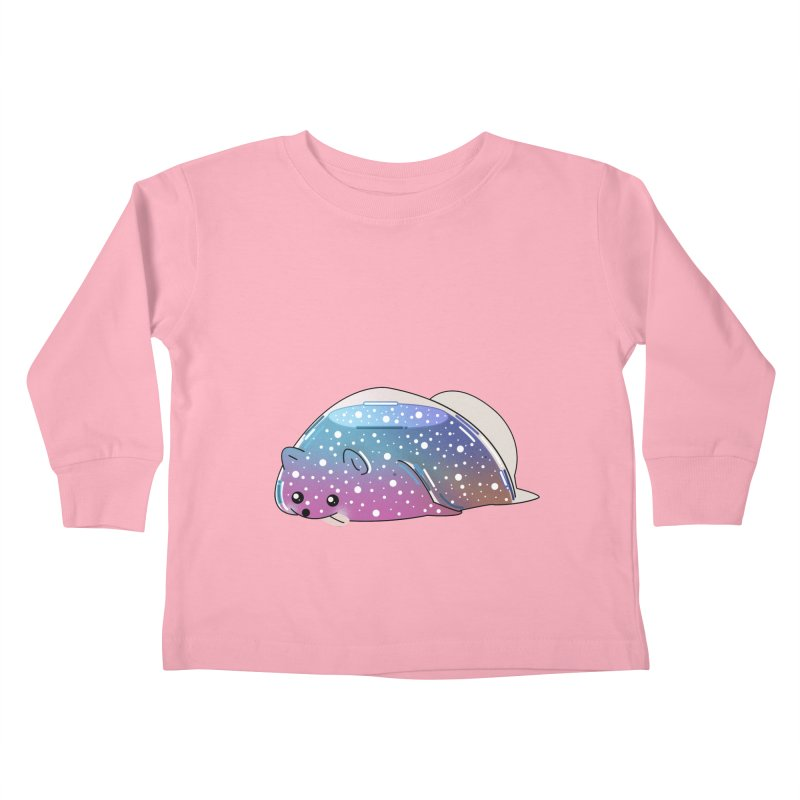 Dog Kids Toddler Longsleeve T-Shirt by the lady ernest ember's Artist Shop