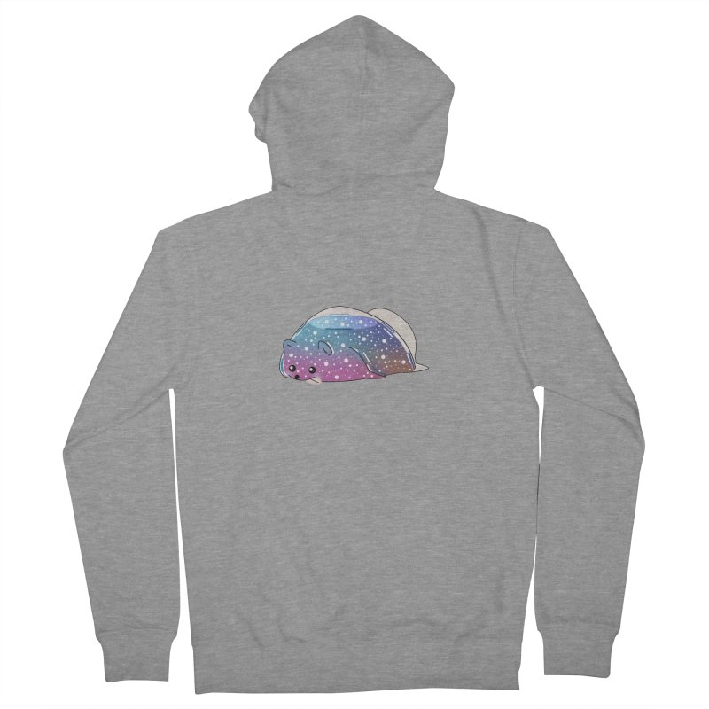 Dog Women's French Terry Zip-Up Hoody by the lady ernest ember's Artist Shop