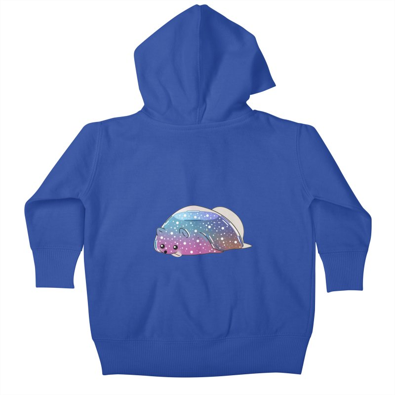 Dog Kids Baby Zip-Up Hoody by the lady ernest ember's Artist Shop