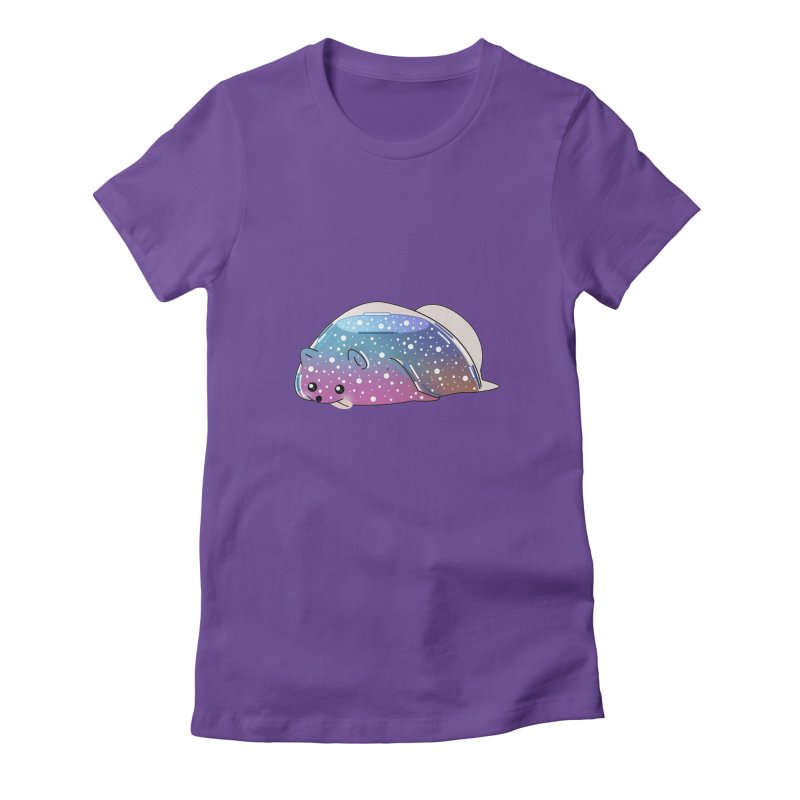 Dog Women's Fitted T-Shirt by the lady ernest ember's Artist Shop