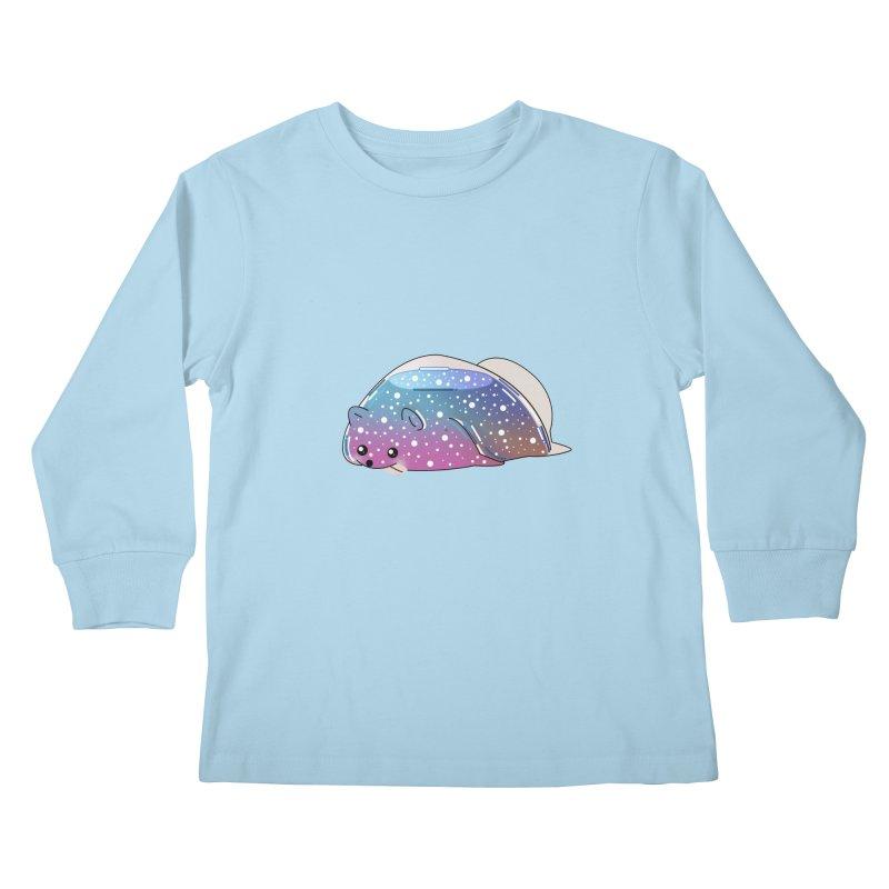 Dog Kids Longsleeve T-Shirt by the lady ernest ember's Artist Shop