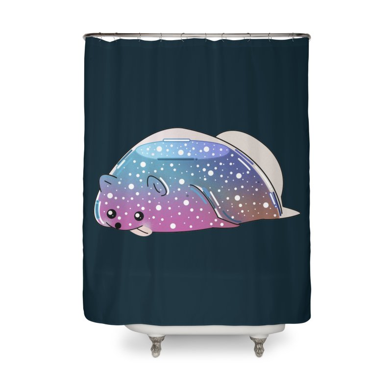 Dog Home Shower Curtain by the lady ernest ember's Artist Shop