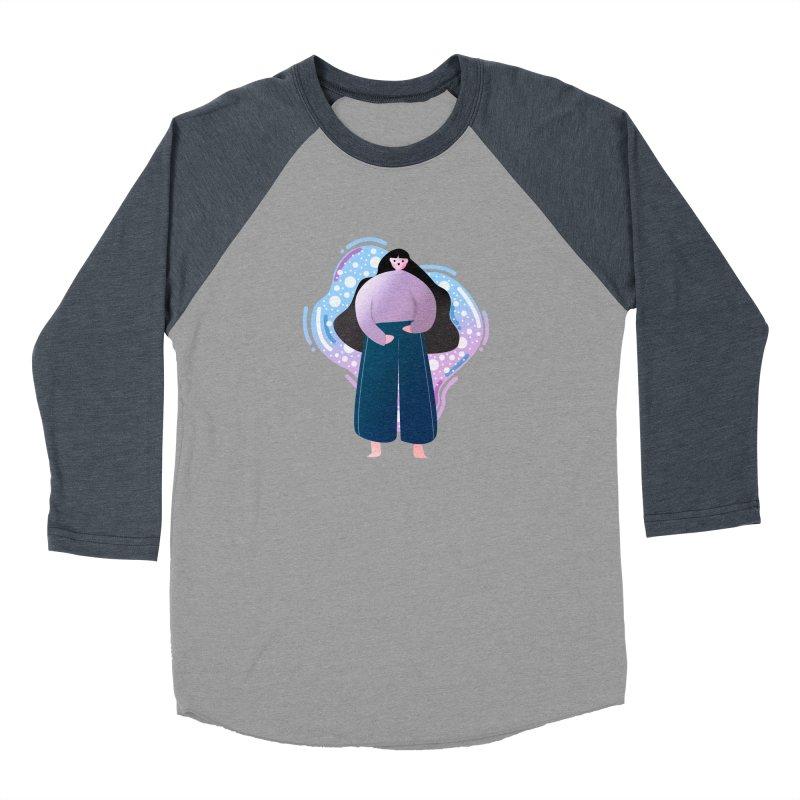 Magic Women's Baseball Triblend Longsleeve T-Shirt by the lady ernest ember's Artist Shop