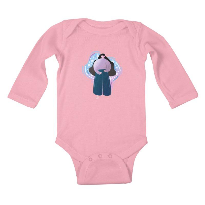 Magic Kids Baby Longsleeve Bodysuit by the lady ernest ember's Artist Shop