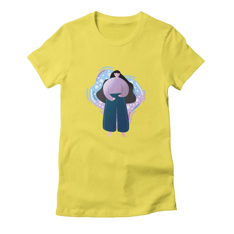 Magic Women's Fitted T-Shirt by the lady ernest ember's Artist Shop